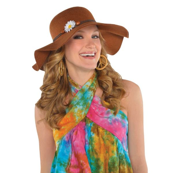 Adults Hat Festival Floppy Fancy Dress Outfit Accessory